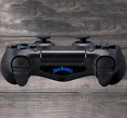 4X Stickers PS4 LIGHT BAR - Jack Daniel's