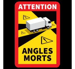 Autocollant Angle Mort Camion