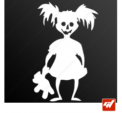 Stickers Fun/JDM - Enfant Zombie