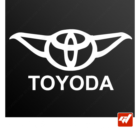 Stickers Fun/JDM - Toyoda