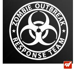 Stickers Fun/JDM - Zombie Outbreak