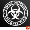Stickers Fun/JDM - Zombie Outbreak