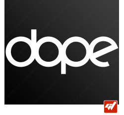 Stickers Fun/JDM - Dope Audi