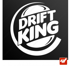 Stickers Fun/JDM - Drift King