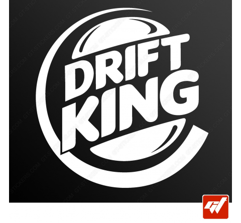 Stickers Fun/JDM - Drift King