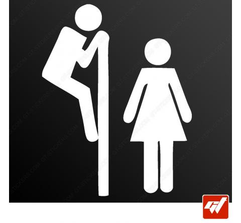 Stickers Fun/JDM - WC Humour