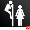 Sticker WC toilettes