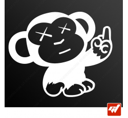 Stickers Fun/JDM - Dirty Monkey