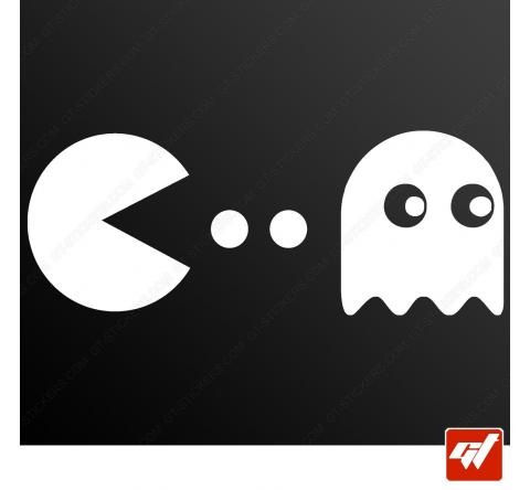 Sticker pacman ghost