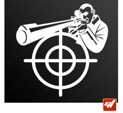 Stickers Fun/JDM - Sniper