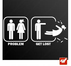 Stickers Fun/JDM - Get lost