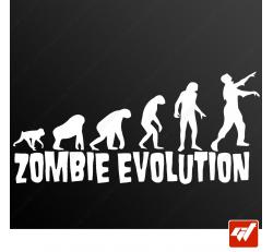 Stickers Fun/JDM - Zombie évolution