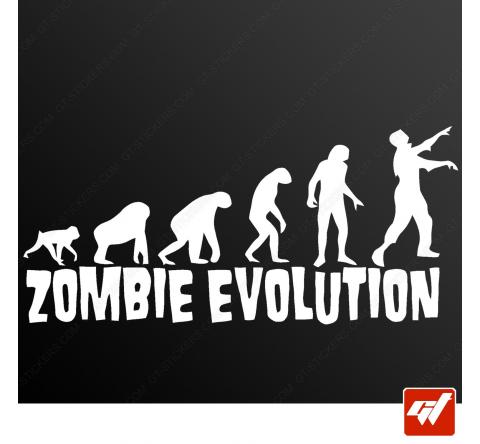 Sticker zombie evolution