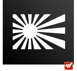 Stickers Fun/JDM - Sun rising
