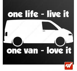 Stickers Fun/JDM - VW Transporter
