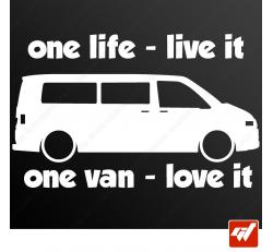 Sticker transporter vw volkswagen