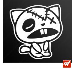 Stickers Fun/JDM - The cat