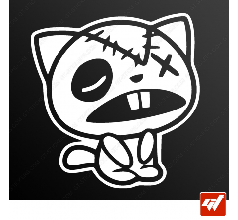 Stickers Fun/JDM - The cat