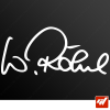 Stickers Signature - Walter Röhrl