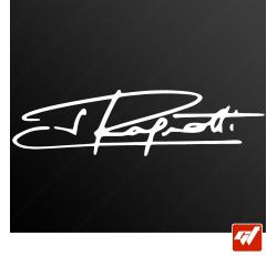 Stickers Signature - Jean RAGNOTTI