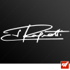 Stickers Signature - Jean RAGNOTTI