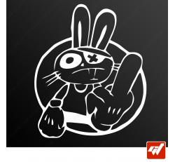 Stickers Fun/JDM - Bunny