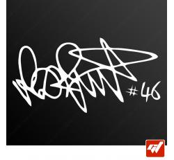Stickers Signature - Rossi