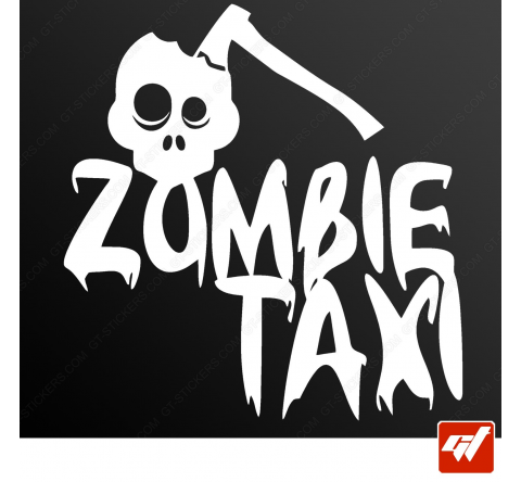 Stickers Fun/JDM - Zombie taxi
