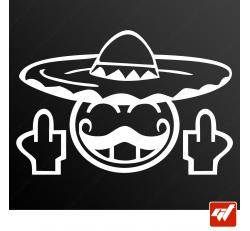 Stickers Fun/JDM - Smiley