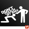 Stickers Fun/JDM - Don't touch my bike