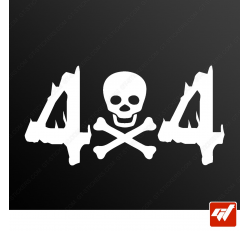 Stickers Fun/JDM - Pirate 4x4