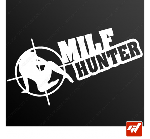 Stickers Fun/JDM - Milf hunter