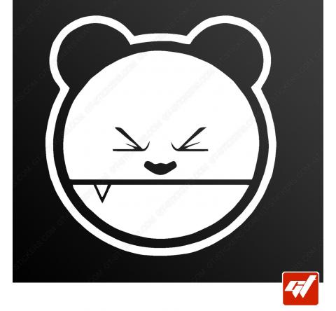 Sticker panda drift drifting