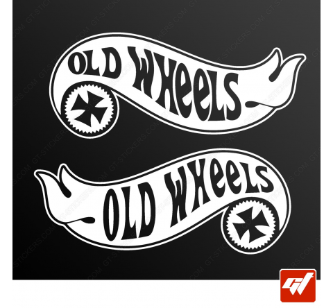 Stickers Fun/JDM - Fauteuil Old wheels