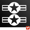 Stickers Fun/JDM - US Air Force