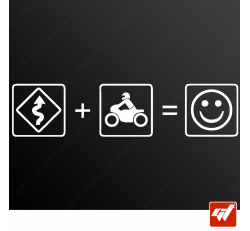 Stickers Fun/JDM - Biker's day