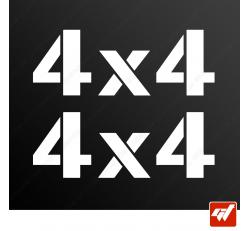 Stickers Fun/JDM - 4x4