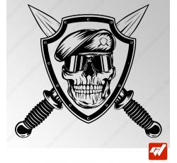 Stickers Fun/JDM - Commando