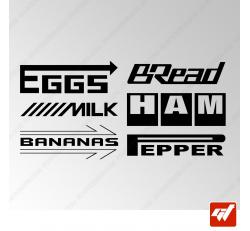 Stickers Fun/JDM - Sponsors Petit dej