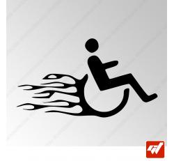 Stickers Fun/JDM - Fauteuil Hotrod