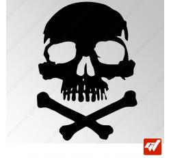 Stickers Fun/JDM - Tête de mort