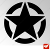 Sticker army usa star etoile