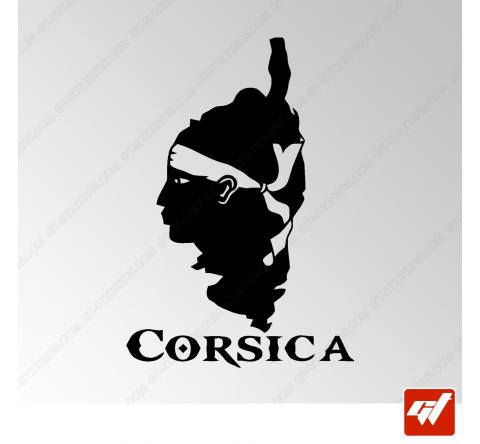 Stickers Fun/JDM - Corsica