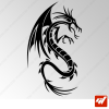 Sticker Dragon Tribal 3