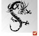 Sticker Dragon Tribal 4