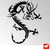 Sticker Dragon Tribal 4