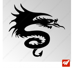 Sticker Dragon Tribal 5