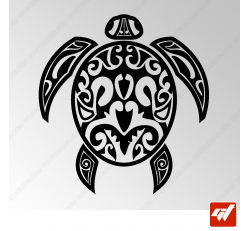 Sticker Tortue Maorie 1