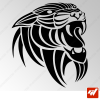 Sticker Tigre Tribal