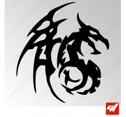 Sticker Dragon Tribal 10